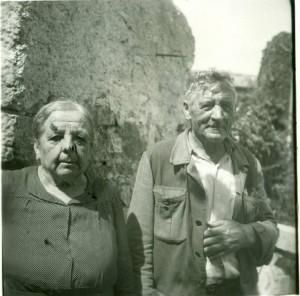 Narodni kazivači i pjevači Domenica Rotta i Bonassin Giovanni