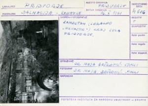 Folklorna građa iz Konavala 2, 1961. Samostan (