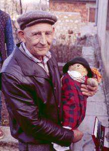 Poklade u Kastavštini, 1984.: spaljivanje pusta, pogrebna povorka, pust u gostionici pred spaljivanje