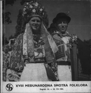 Prezentacija folklora danas : program XVIII Međunarodne smotre folklora