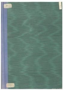 Hrvatske narodne pjesme, priče i običaji iz Ćićarije i kotara Buzet, 1952.