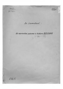 Narodne pjesme iz kotara Bjelovar, sv. VI., 1952.