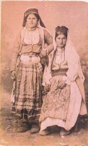 Fotografije nošnji. Hercegovke, seljanke.