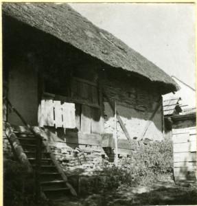 """Kuća (""""hiža"""") Jakoba Golubića."""