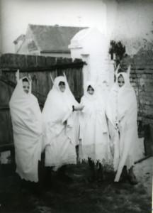 Poklade. Pokladne maškare. Vištice. Folklorna građa Otoka i Nijemaca, 1965.