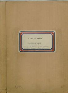 Gradišćanske jačke; Redigirao Vinko Žganec, sv. I. i II. - note i tekst, sv. III. - radna verzija knjige