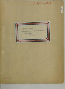 Narodne popijevke iz Martinšćice na otoku Cresu, 1956.