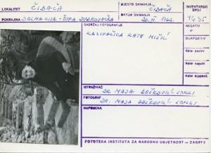 Narodne pripovijetke, predaje i pjesme iz Dubrovačke župe i Rijeke dubrovačke, 1962.: Kazivačica Kate Mišić.