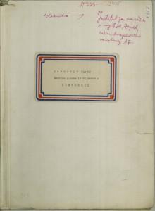 Narodne pjesme iz Nijemaca u Slavoniji, (ONŽO NZ 58 a), 1954.