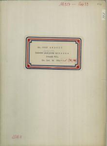 Narodne popijevke iz Vojvodine (šokačke i bunjevačke), sv. VII., 1953, 1954, (ONŽO NZ 70 a-i).