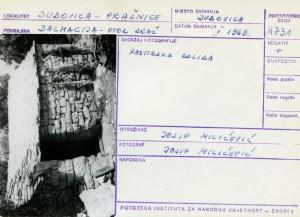 Etnološka i folklorna građa otoka Brača, 1969.: Pastirska koliba.