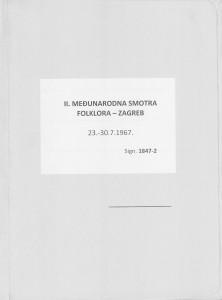 II. Međunarodna smotra folklora