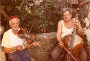 Žicozvučna glazbala: violina i bajs (