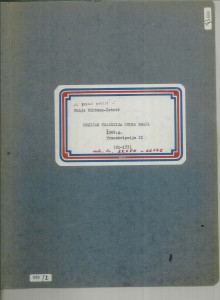 Muzička tradicija otoka Brača, 1969.: 1. Transkribirane melodije - note, sv. II.