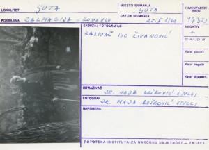 Folklorna građa iz Konavala 2, 1961.: Kazivač Ivo Živanović.