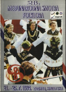 28. Međunarodna smotra folklora : 21. - 25. 7. 1984., Zagreb, Hrvatska