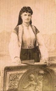 Fotografije nošnji. Crnogorka.