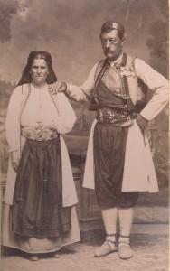 Fotografije nošnji. Crnogorci.