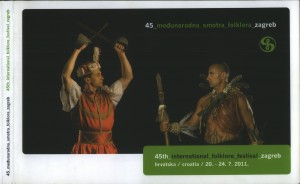 45. međunarodna smotra folklora = 45th International folklore festival