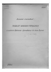 Narodne pjesme iz kotara: Bjelovar, Garešnica i Sv. Ivan Žabno, sv. VII., 1951.