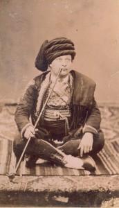 Fotografije nošnji. Hercegovac, musliman.