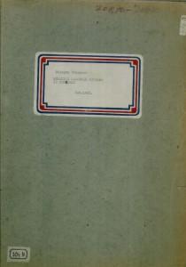 Melodije narodnih pjesama iz Konavala, 1961.; sv. I. - note; sv. II. - tekst
