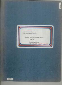 Muzička tradicija otoka Brača, 1969.: 1. Transkribirane melodije - note, sv. I.-II.; 2. Tekstovi, sv. III.