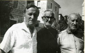 Juraj Vrsalović, ivan Tomšić i Juraj Štambuk. Folklor otoka Brača, 1966.