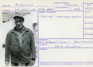 Etnološka i folklorna građa otoka Brača, 1969. Kazivač Marinko Baković.