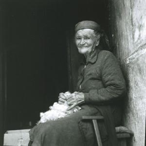 Folklorna glazba otoka Brača, 1969. Pjevačica Marija Vuković, r. Bulić (1883).