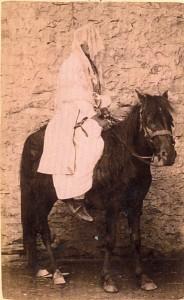 Fotografije nošnji. Seljanka iz Crne Gore, mladenka.