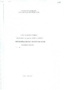 Mitološka bitja v slovenskoj Istri; diplomski rad. Univerza v Ljubljani - Fakulteta za družbene vede. Mentorica: izv.prof.dr. Vesna Godina. Ljubljana 2000.