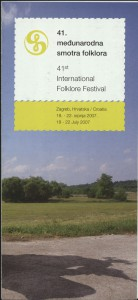 38. Međunarodna smotra folklora // 41. Međunarodna smotra folklora = 41st International Folklore Festival // 43. Međunarodna smotra folklora = 43rd International Folklore Festival