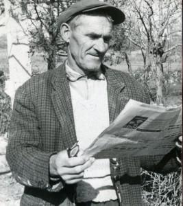 Folklorna građa Sinjske krajine, 1965.: Kazivač Ante Rančić.
