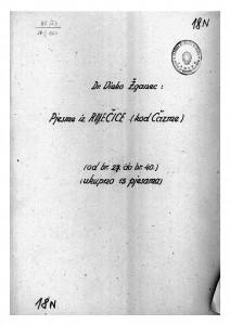 Pjesme iz Rečice (kod Čazme), 1950.