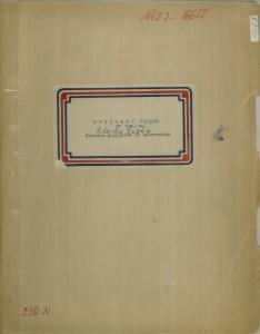 Narodne popijevke iz Dubrovnika; Po zapisima Zdenke Šapre, 1958. sv. I. - note; sv. II. - tekst
