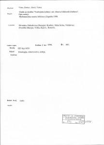 Građa za izložbu ''Tradicijska kultura i rat : obnova folklornih društava'' : Međunarodna smotra folklora 1998.
