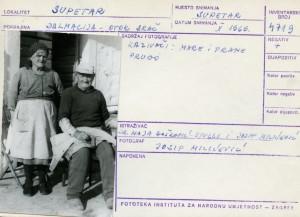 Etnološka i folklorna građa otoka Brača, 1969. Kazivači: Mare i Frane Prugo.