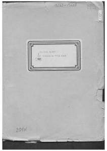 120 pjesama sa otoka Hvara, 1950. i 1951, (ONŽO NZ 33).
