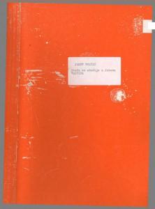 Građa za studije o Jakovu Volčiću, 1988.