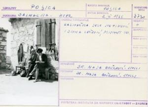 Kazivačica Jele Stepinović i Divna Zečević, asistent  INU.