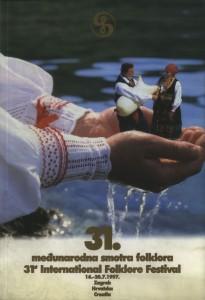31. Međunarodna smotra folklora = 31st International folklore festival : 16. - 20. 7. 1997., Zagreb, Hrvatska