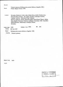 XX. Međunarodna smotra folklora : tekstovi pjesama