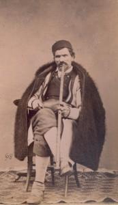 Fotografije nošnji. Crnogorac, seljak.