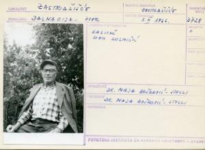 Kazivač Ivan Kuzmičić.