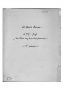 Notni dio Matičine kajkavske pjesmarice. Hrvatske narodne pjesme kajkavske. Zagreb: Matica hrvatska 1950.