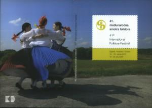 41. Međunarodna smotra folklora = 41st International folklore festival