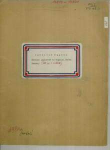 Narodne popijevke iz Rogolja (kotar Pakrac), 1951.