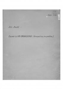 Zapisi iz NR Crne Gore (brojalice i rugalice), 1955.