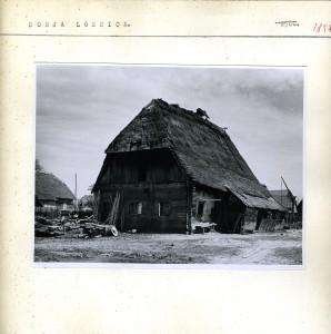 Stara seljačka kuća.